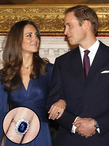 Bague de kate middleton fiancaille